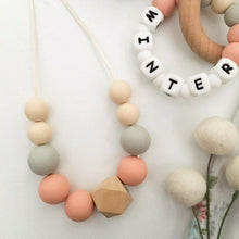 Load image into Gallery viewer, WINTER Silicone Necklace Silicone Necklaces, silicone necklace winter-silicone-necklaceTwo Little Seedlings