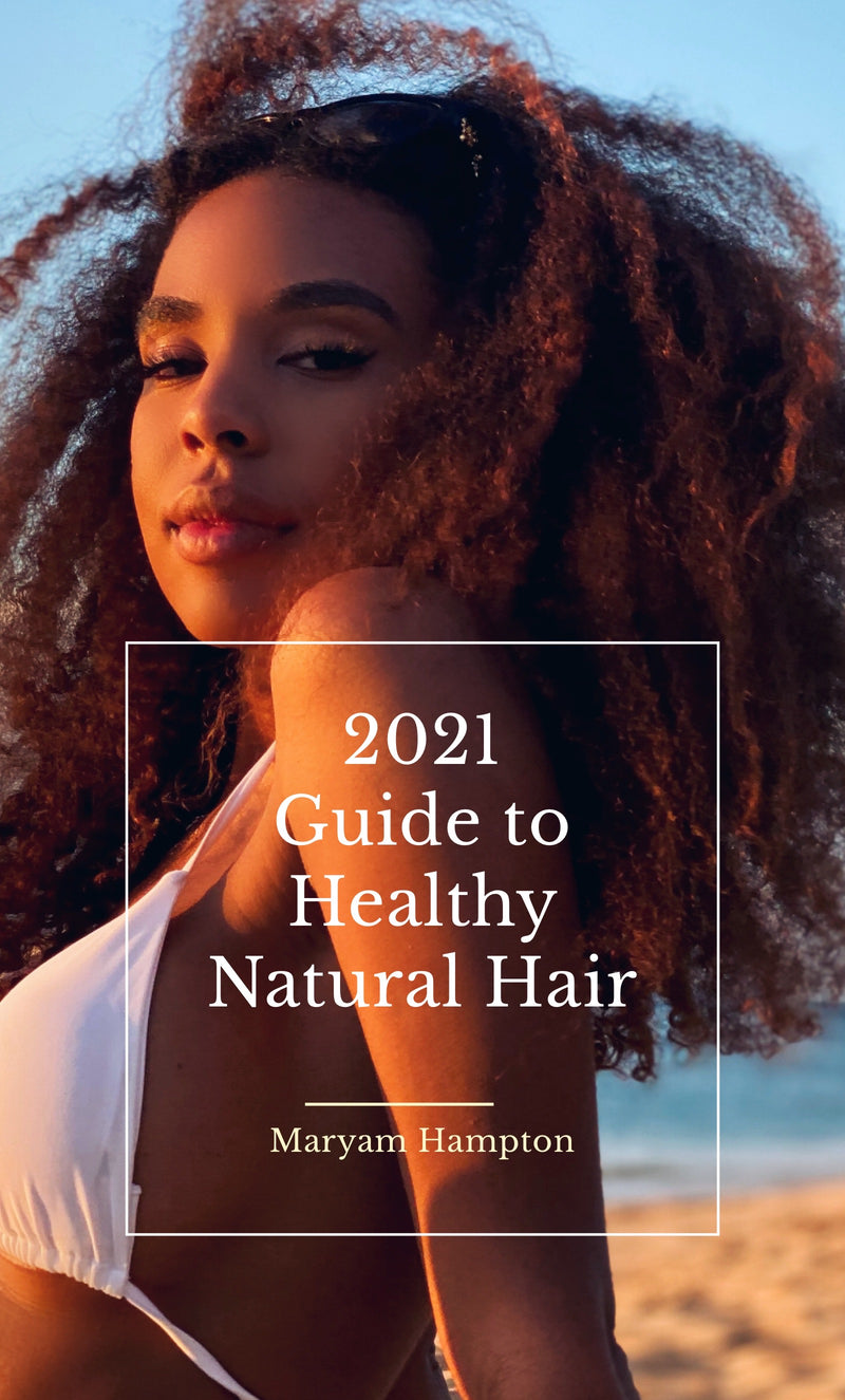 2021 Step by Step Guide to Healthy Natural Hair Ebook