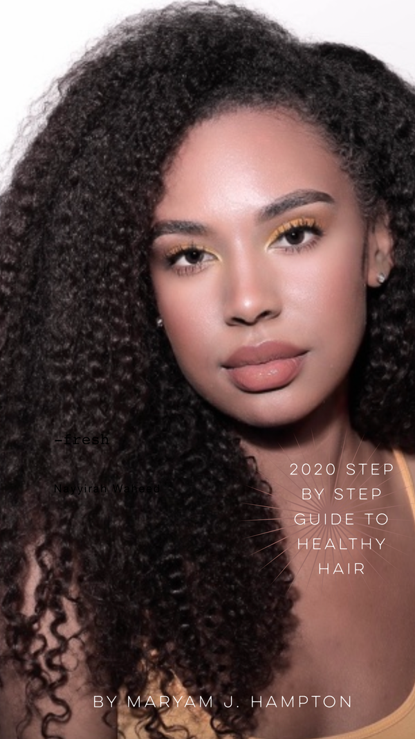 2020 Step by Step Guide to Healthy Hair Ebook