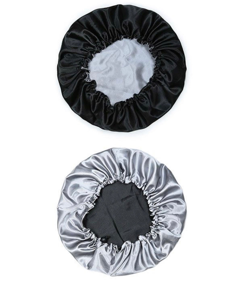 Double Layered Drawstring 100% Satin Bonnet