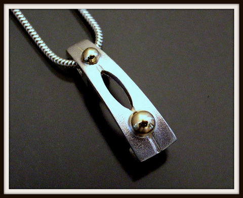 """ESSENCE"" Sterling Silver Pendant"
