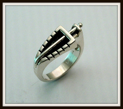 """PRIMA"" Sterling Silver Ring"