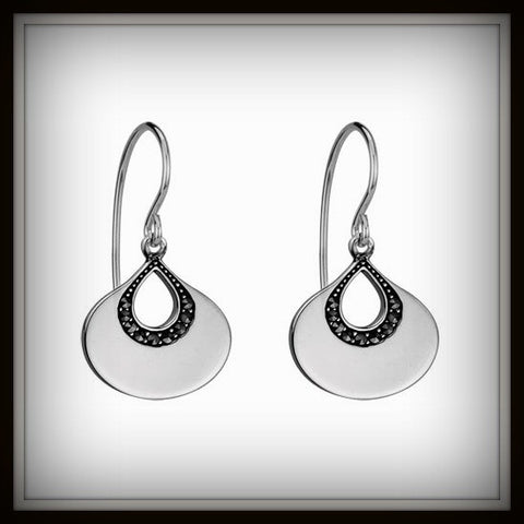 """MARCASITE"" Sterling Silver earrings"