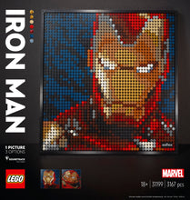 Laden Sie das Bild in den Galerie-Viewer, 31199 Marvel Studios Iron Man - Kunstbild