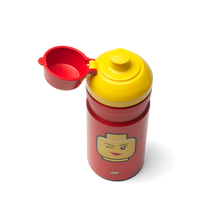 Laden Sie das Bild in den Galerie-Viewer, LEGO® Girl Emoticon Trinkflasche