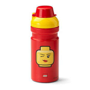 LEGO® Girl Emoticon Trinkflasche