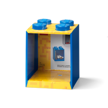 Laden Sie das Bild in den Galerie-Viewer, LEGO® Brick Regal mit 4 Noppen blau