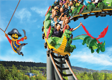 Laden Sie das Bild in den Galerie-Viewer, logoloop® Faltpostkarte LEGOLAND® Highlights