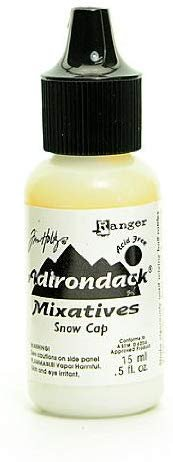 Ranger Adirondack Alcohol Inks snow cap mixatives [PACK OF 3 ]