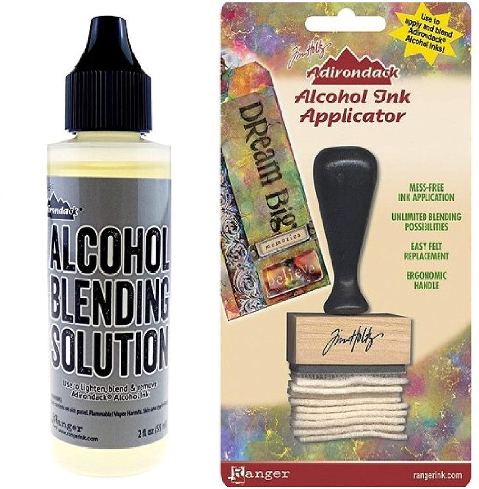 Ranger Adirondack Alcohol Blending Solution, 2-Ounce and Applicator, Stamp...