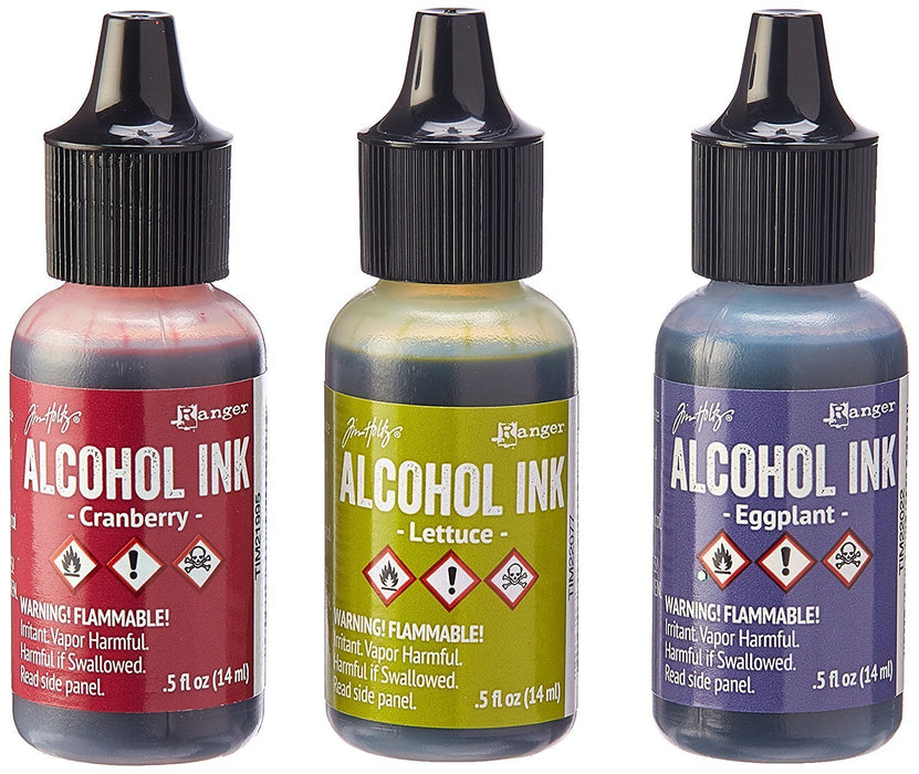 Adirondack Alcohol Ink Bundle Farmers Market Ink Set Metallic Mixatives Ink Set