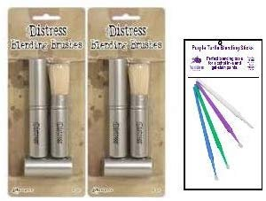New Ranger Tim Holtz Distress Embossing Bundle with PTP Flash Deals Blending Sticks