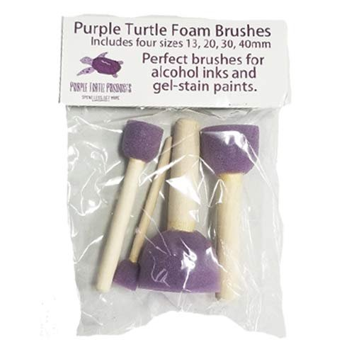 Unicorn SPiT Gel Stain & Glaze Paint in One Bundle with Famowood Glaze Coat Kit, and Purple Turtle Products Accessory Kit