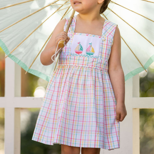 Nantucket Sailboat Emme Dress