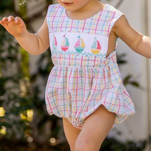 Nantucket Sailboat Romper
