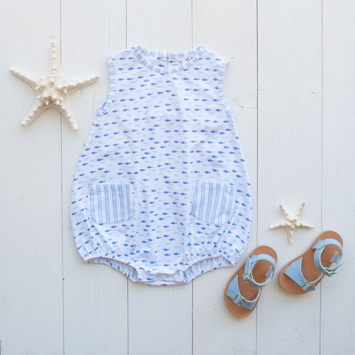 Fishy Fishy Romper