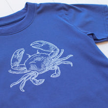 Load image into Gallery viewer, Blue Crab Graphic T Shirt
