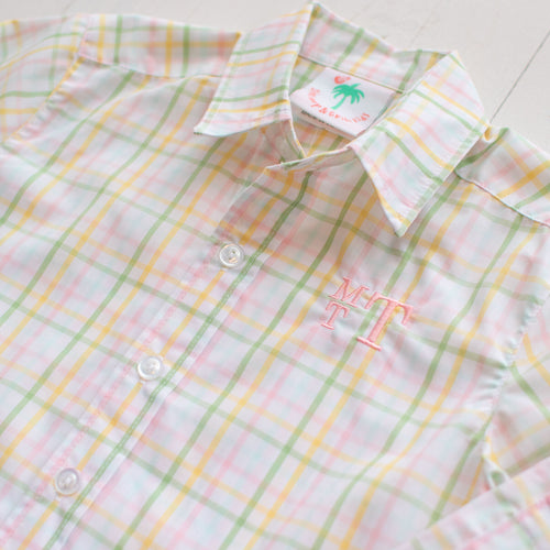 Easter Plaid Oxford