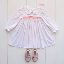 Load image into Gallery viewer, Valentines Day Smocked Dress
