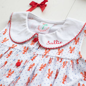 Lobster Collared Dress