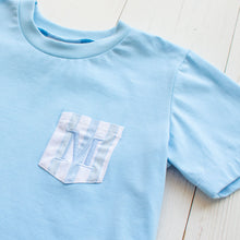Load image into Gallery viewer, Sailfish Stripe Pocket T Shirt