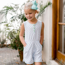 Load image into Gallery viewer, Blue Belle Romper