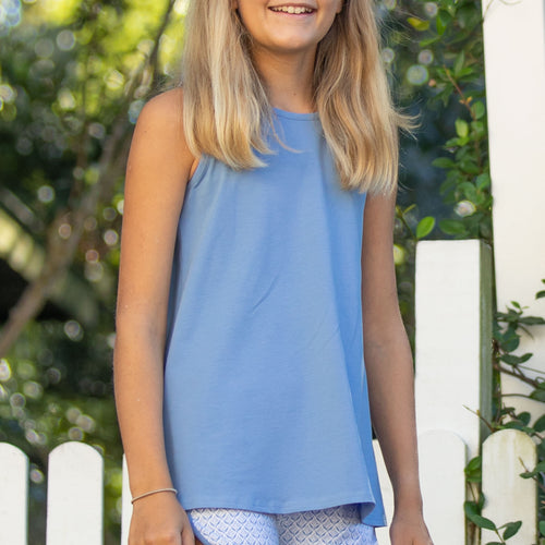 Blue Hyacinth Racerback Top