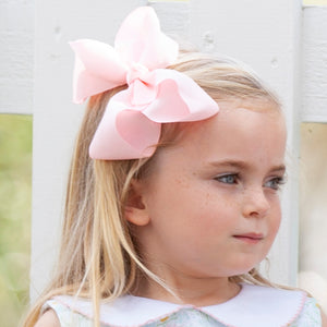 Blush Biggie Bow