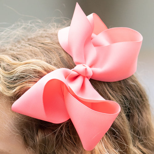 Bubble Gum Pink Biggie Bow