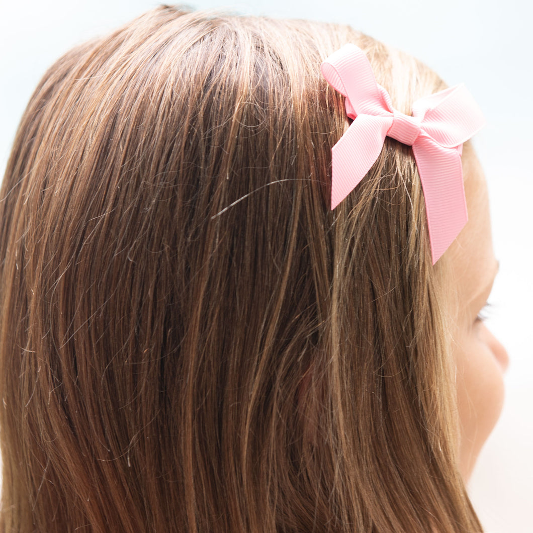Bubble Gum Pink Bitty Bow