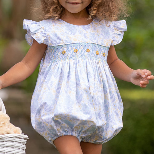 Buttercup Smocked Bubble