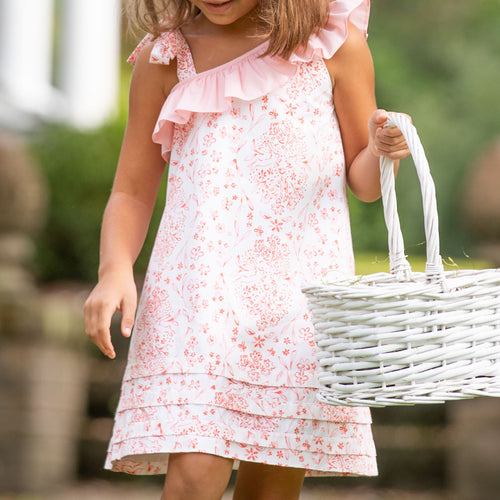 Easter Toile Mady Dress