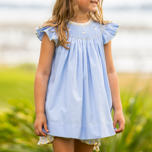 Honey Smocked Set