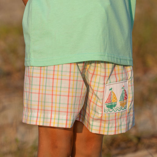 Nantucket Sailboat Swim Shorts