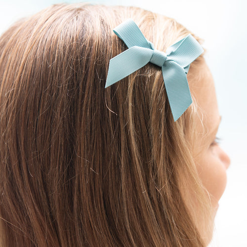 Nile Blue Bitty Bow