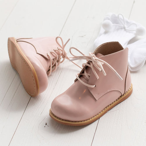 Pink Grayson Booties (Runs Small)