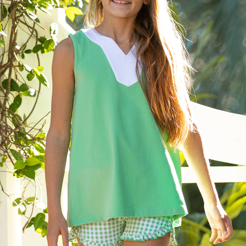 Pistachio Girls Top