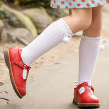 Load image into Gallery viewer, Red T-Strap Mary Janes (Runs Small)
