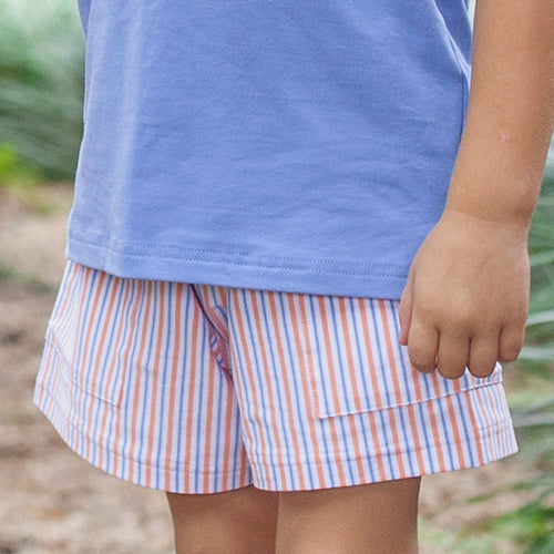 Sail Away Stripe Shorts