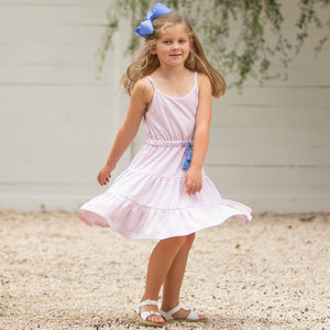 Sail Away Stripe Tier Dress