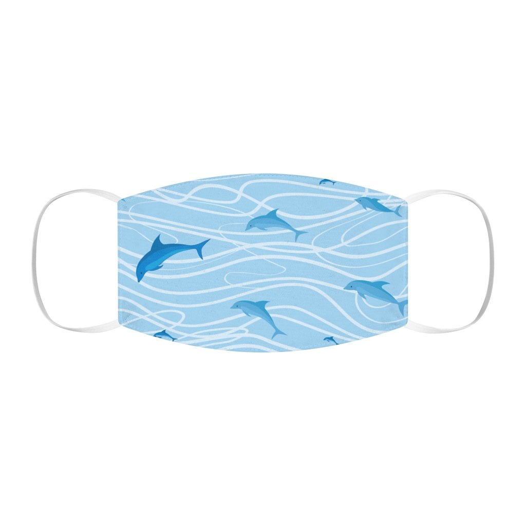 Save The Dolphins Face Mask