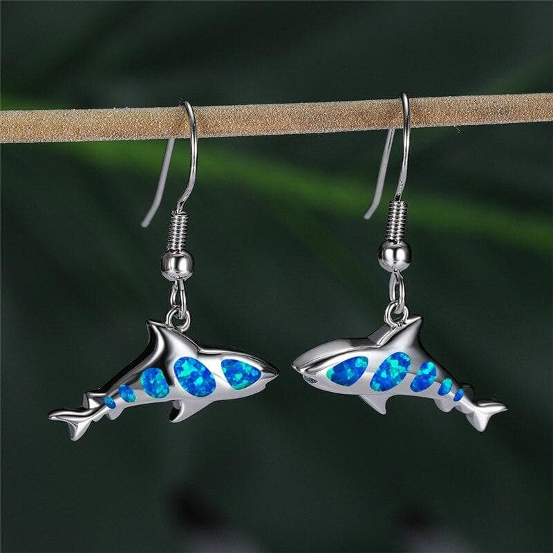 Save a Shark Earrings
