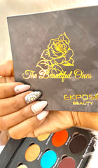 Ekposé Beauty - The Beautiful Ones Eyeshadow Palette