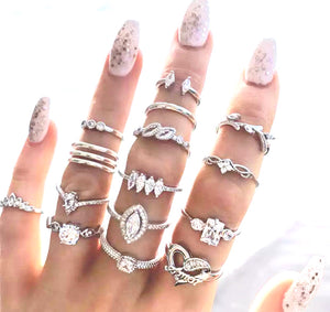 Amor - Accent Ring Set