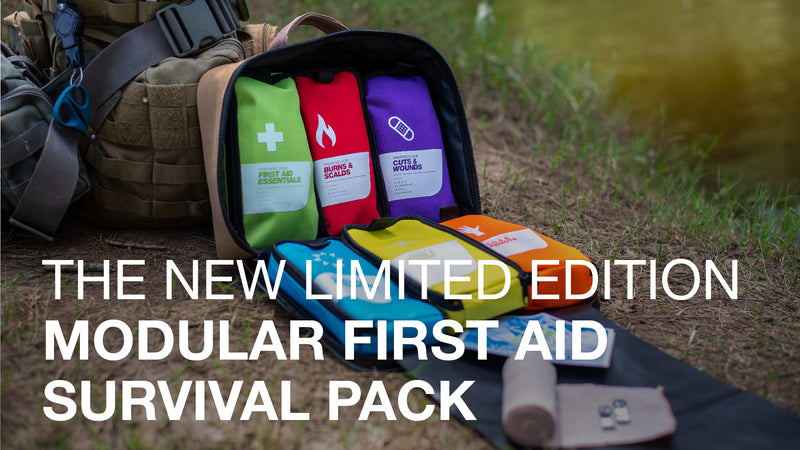 The NEW Limited Edition Modular First Aid Survival Pack