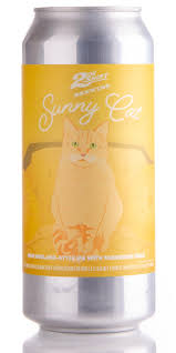 2nd Shift Brewing  Sunny Cat