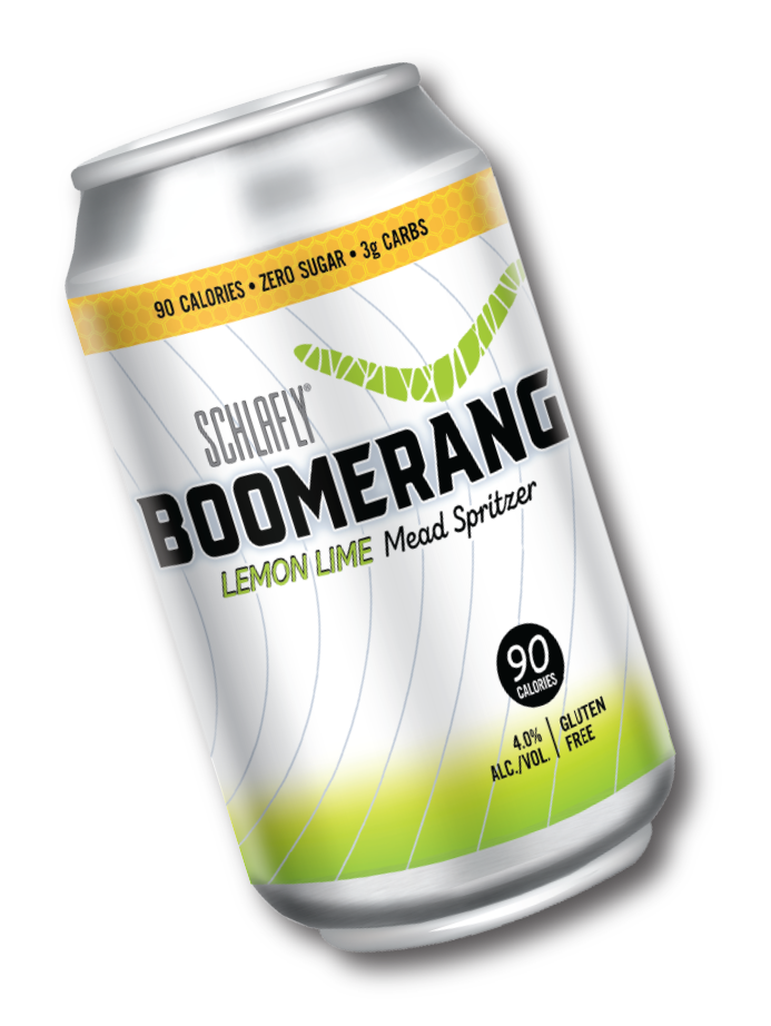 Boomerang Lemon Lime Mead Spritzer 12 Oz.