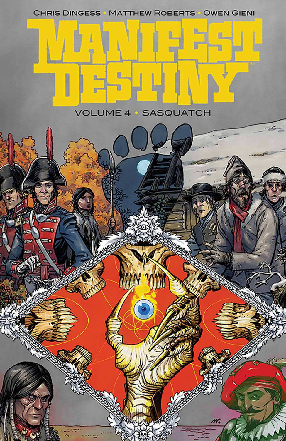 MANIFEST DESTINY TP VOL 04 SASQUATCH (MR)