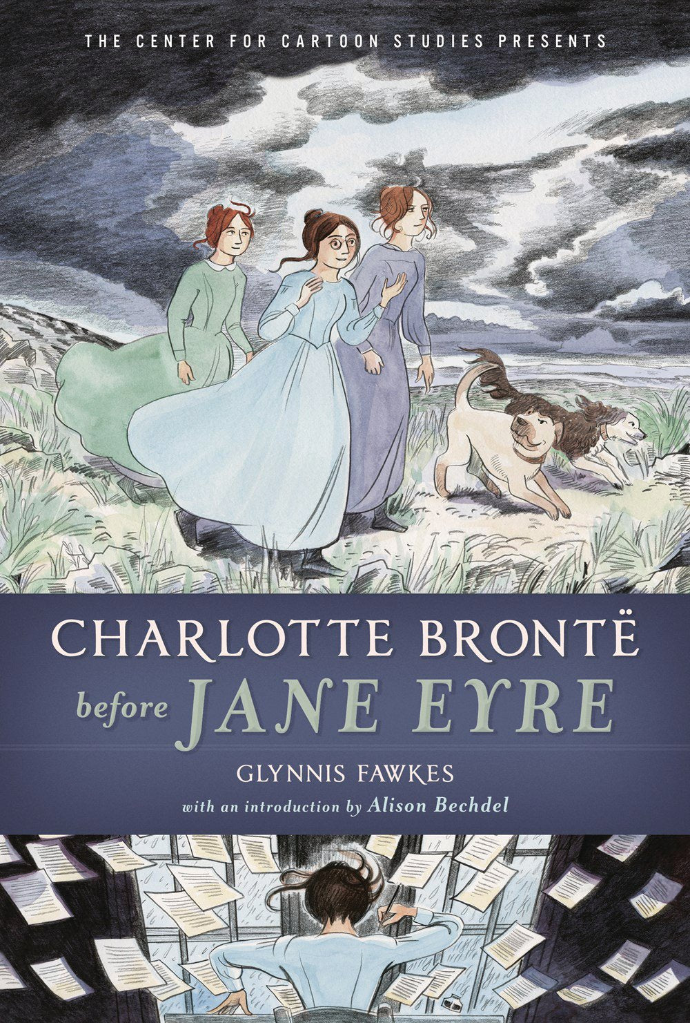 CHARLOTTE BRONTE BEFORE JANE EYRE GN