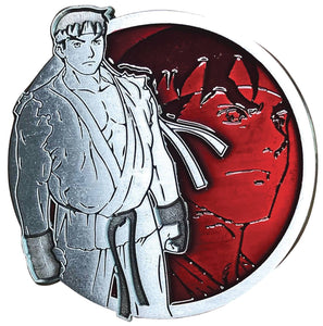 STREET FIGHTER RYU PORTRAIT SERIES ENAMEL PIN